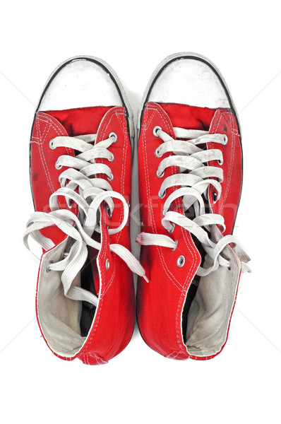 red sneaker boots Stock photo © nito