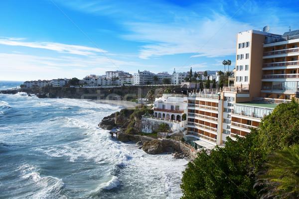 южный побережье Испания мнение Средиземное море морем Сток-фото © nito