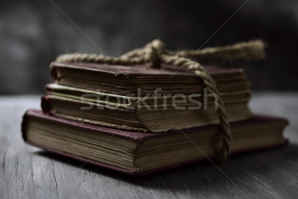 old books tied with a string Stock photo © nito