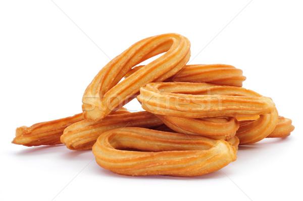 Típico España blanco fondo desayuno Foto stock © nito