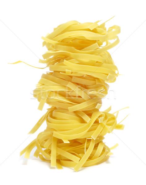 タリアテーレ 白 食品 背景 食べ ストックフォト © nito