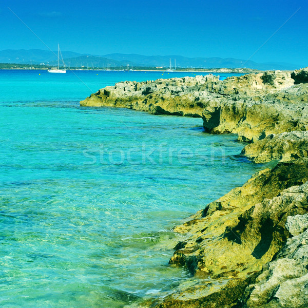 Ses Illetes in Formentera, Balearic Islands, Spain Stock photo © nito