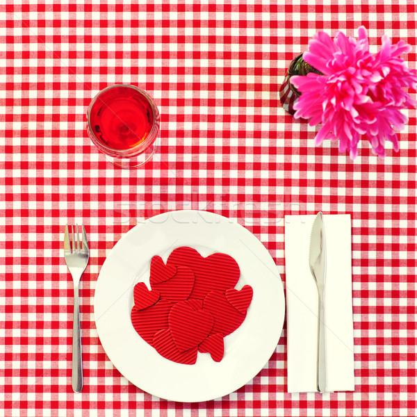 eating love Stock photo © nito