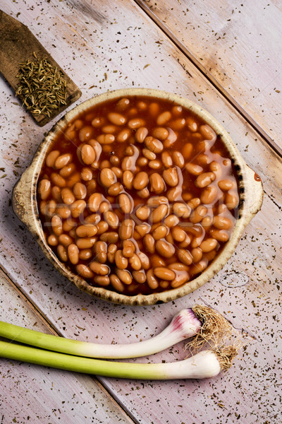 baked beans Stock photo © nito