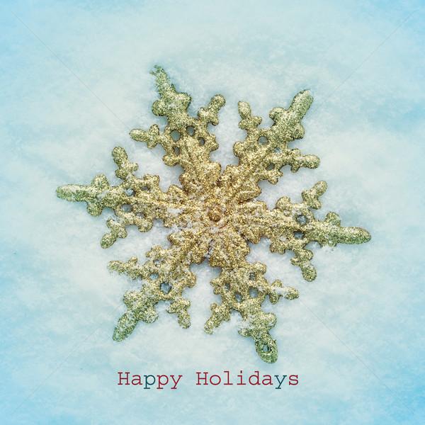 happy holidays Stock photo © nito