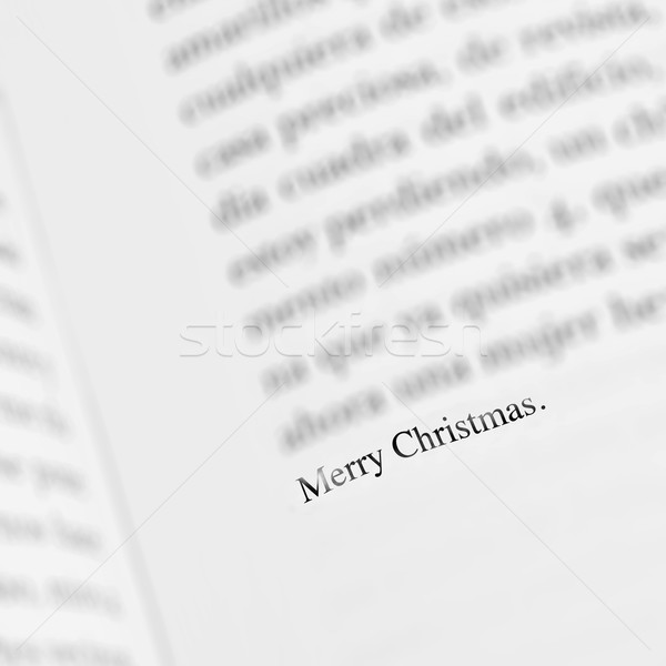 Merry Christmas Stock photo © nito