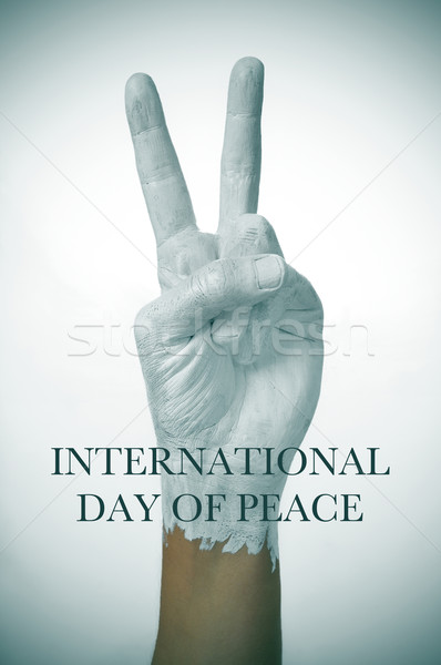 Stock photo: international day of peace