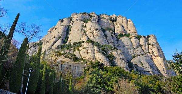 Montserrat mountain, in Spain Stock photo © nito