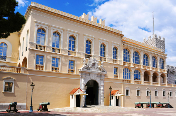 Saray Monaco görmek Bina şehir Stok fotoğraf © nito