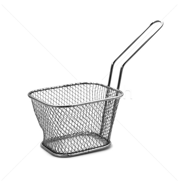 stainless steel fry basket Stock photo © nito