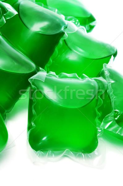 liquid laundry detergent sachets Stock photo © nito