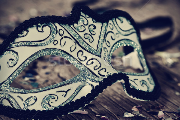 elegant carnival mask, filtered Stock photo © nito