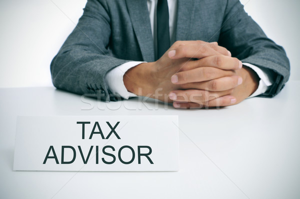 tax advisor at the office Stock photo © nito