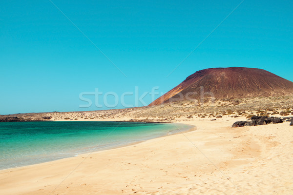La Francesa Beach in La Graciosa, Canary Islands, Spain Stock photo © nito