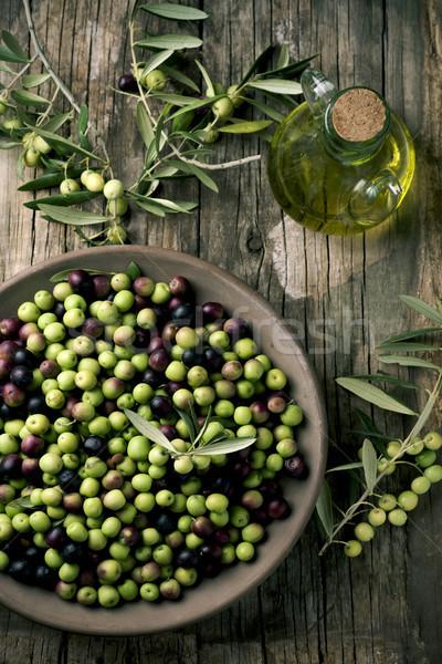 arbequina olives from Spain Stock photo © nito