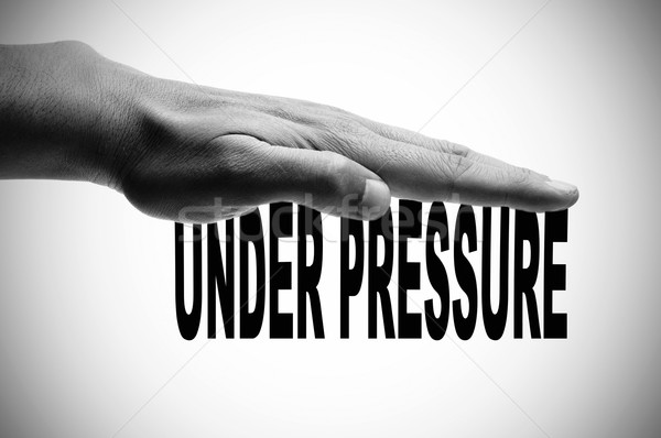 under pressure Stock photo © nito