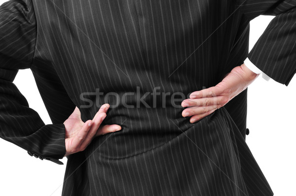 man with low back pain Stock photo © nito