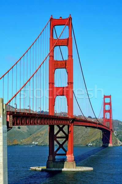 Golden Gate Bridge San Francisco Estados Unidos ver céu oceano Foto stock © nito