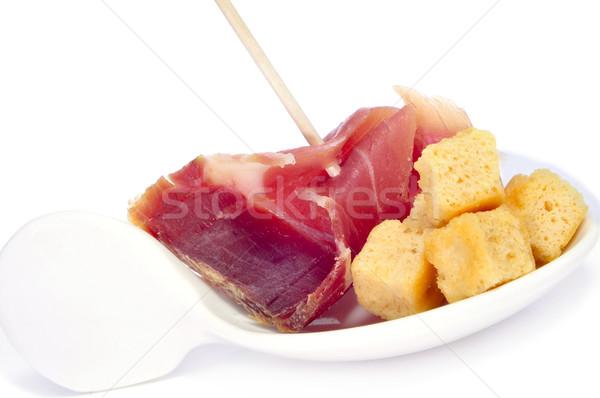 Serrano presunto tapas espanhol comida Foto stock © nito