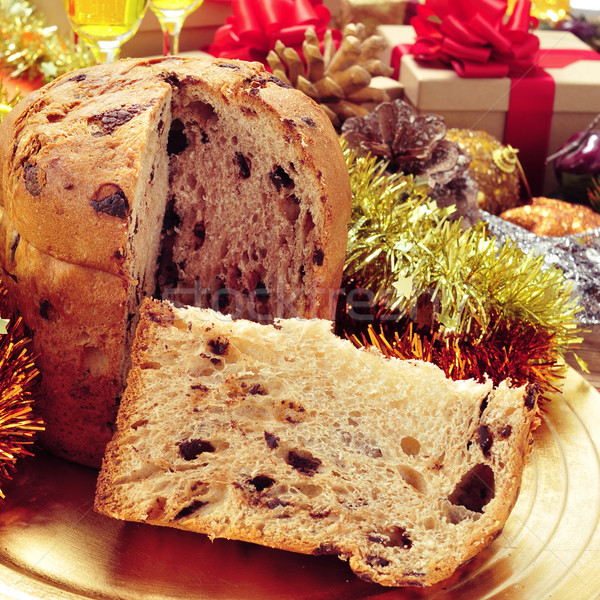 panettone on a christmas table Stock photo © nito