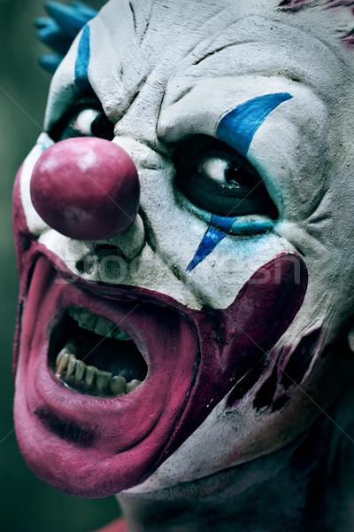 scary evil clown Stock photo © nito