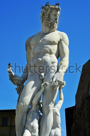 Replica of the David by Michelangelo in Florence, Italy Stock photo © nito