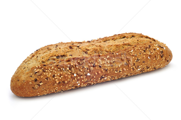 seed brown baguette Stock photo © nito