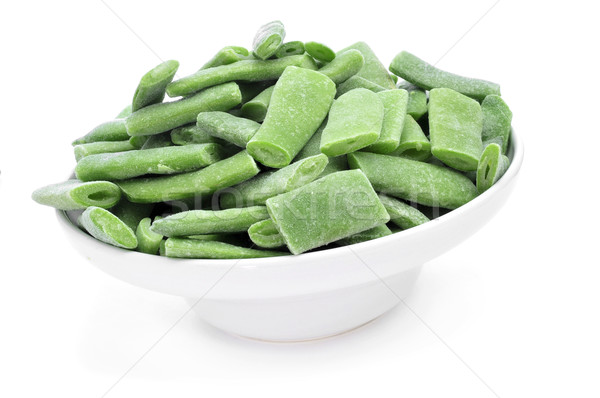 frozen green beans Stock photo © nito