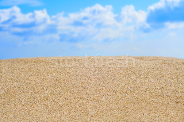 sand and the sky Stock photo © nito