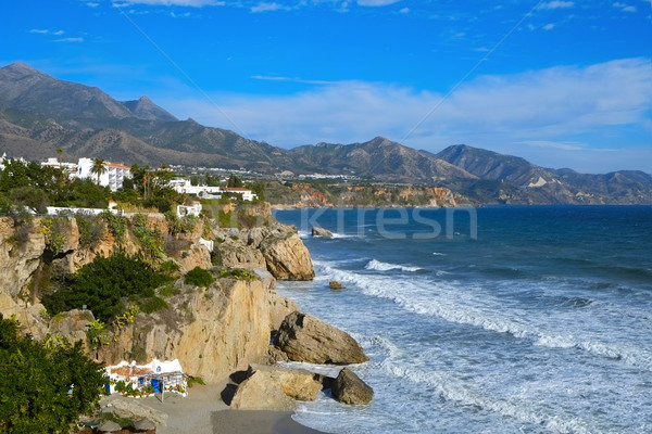 northern coast of Nerja, in Spain Stock photo © nito