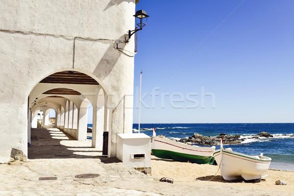 Port Bo in Calella de Palafrugell, Spain Stock photo © nito