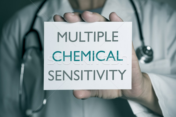 doctor and text multiple chemical sensitivity Stock photo © nito