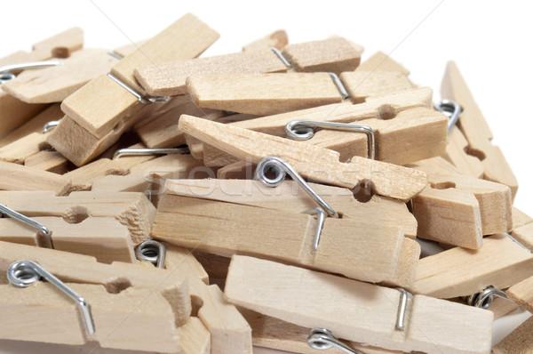 wooden clothespins Stock photo © nito