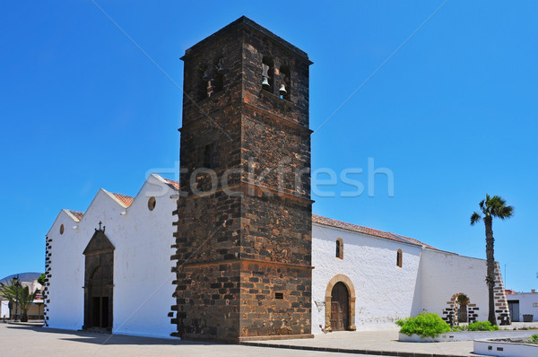 Church of Our Lady of Candelaria in La Oliva, Fuerteventura, Can Stock photo © nito