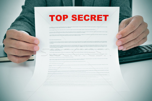 top secret Stock photo © nito