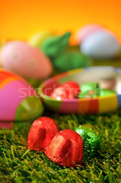 卵 草 クローズアップ 異なる 色 ボックス ストックフォト © nito