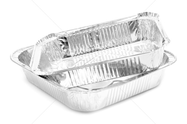aluminium foil trays Stock photo © nito