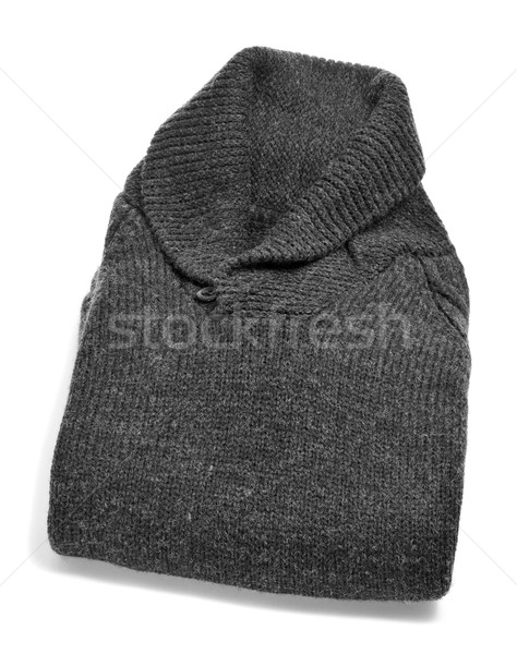 gray woolen sweater Stock photo © nito