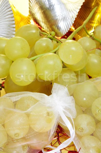 испанский двенадцать виноград традиционный Новый год Сток-фото © nito