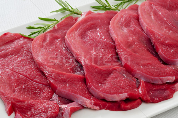 raw beef fillets Stock photo © nito