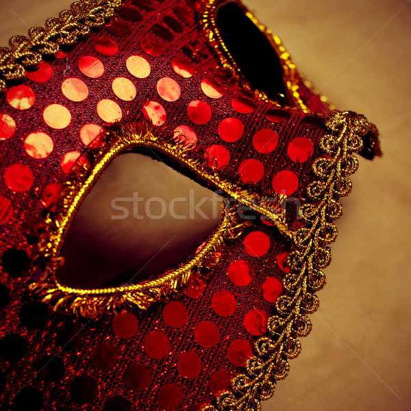 carnival mask with a retro effect Stock photo © nito
