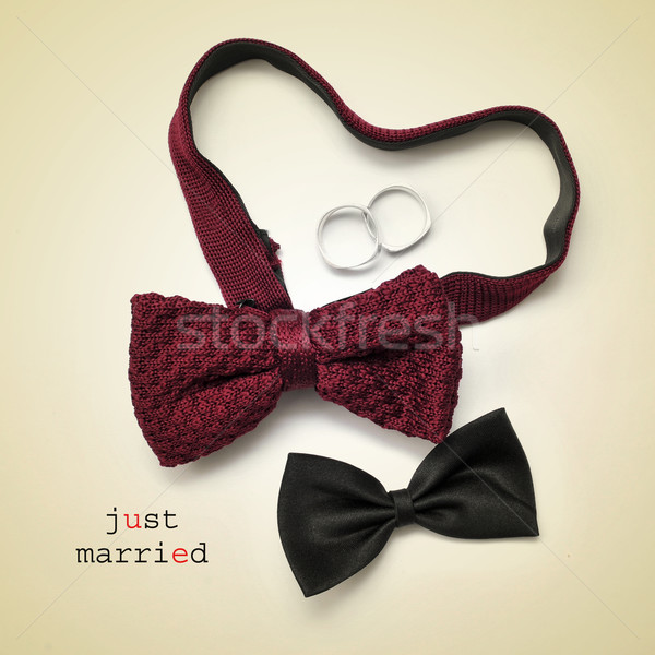 just married Stock photo © nito