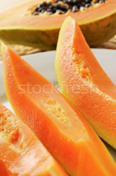 papaya Stock photo © nito