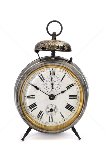 old mechanical alarm clock Stock photo © nito