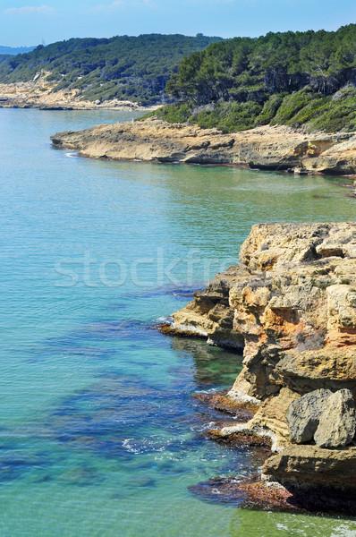 Tarragona coast, Spain Stock photo © nito