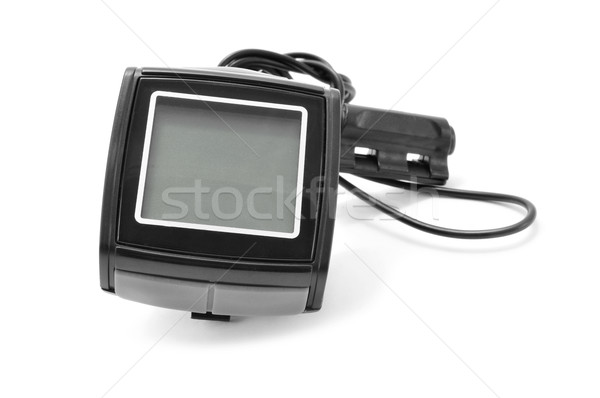 Stock photo: bicycle odometer