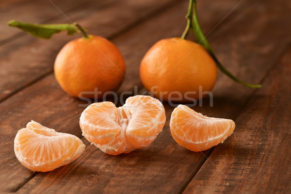 appetizing mandarin oranges Stock photo © nito
