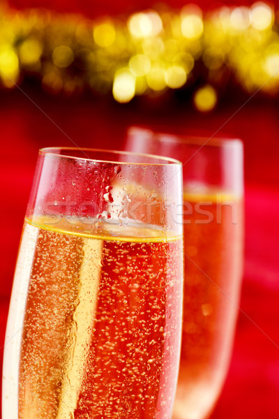 glasses with champagne Stock photo © nito
