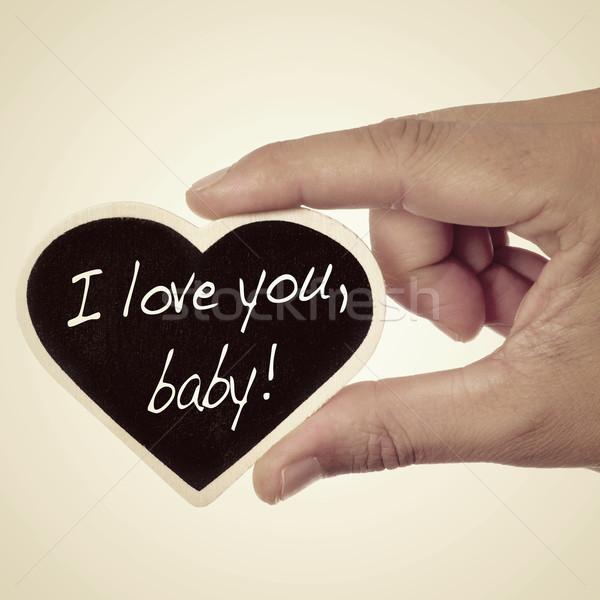 I love you, baby Stock photo © nito