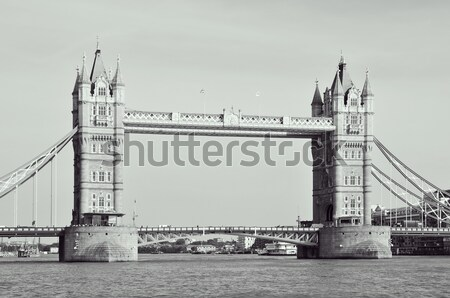 Tower Bridge Londres Reino Unido ver edifício cidade Foto stock © nito